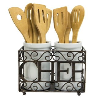 Chef Double Utensil Caddy
