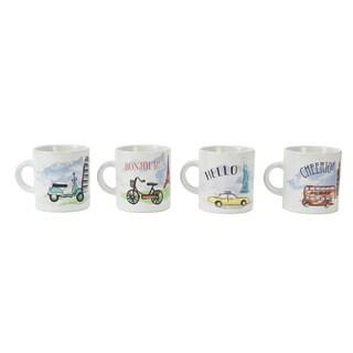 S/4 Espresso Cups - 4oz
