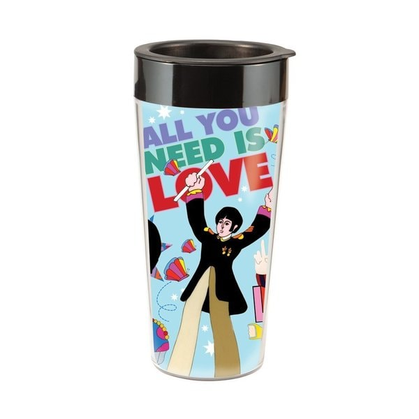 The Beatles 'Yellow Submarine' 16-ounce Travel Mug