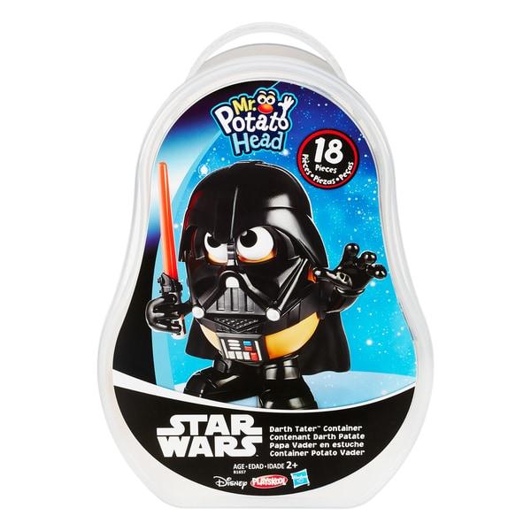 Playskool Mr Potato Head Star Wars Darth Tater Container