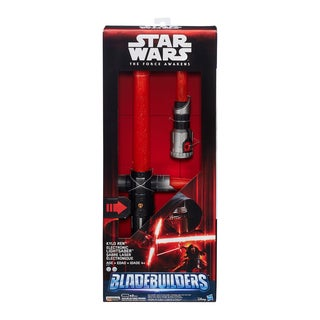 Star Wars: The Force Awakens BladeBuilders: Kylo Ren Deluxe Electronic Lightsaber