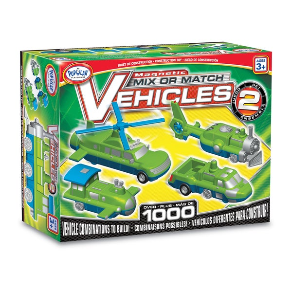 Magnetic Mix or Match Vehicles: Set #2