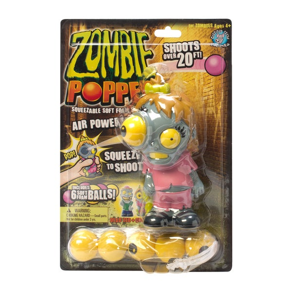 Zombie Popper Creepy Kim