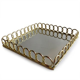 Accents by Jay Looped Mirror Trays