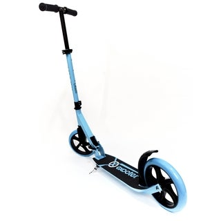 EXOOTER M1450BB Vibrant Blue Teen Kick Scooter with 200mm Wheels