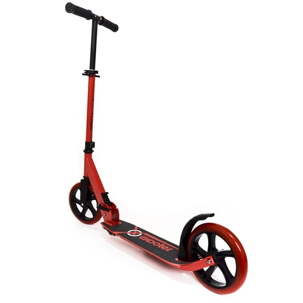 EXOOTER M1450BR Vibrant Red Teen Kick Scooter with 200mm Wheels