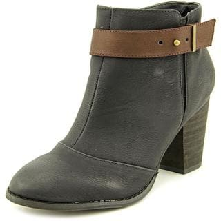 Restricted Women's 'New Day' Black Leather Boots