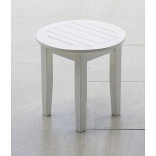 Alston White Side Table