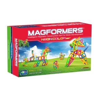 Magformers Neon Color Set: 60 Pcs