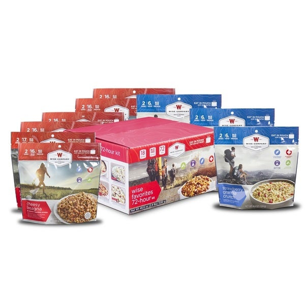 Wise Company Wise Favorites 72 Hour Cook-In-Pouch Meal Kit