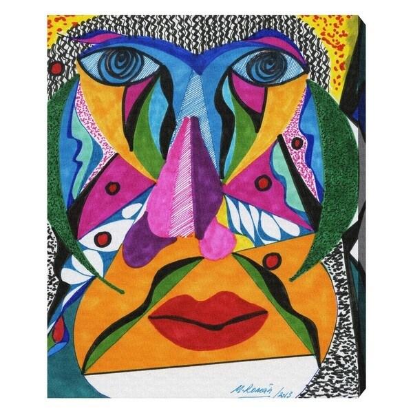 Manuel Roman 'Her Face' Canvas Wall Art