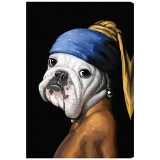 Carson Kressley 'Dog With the Pearl Earring' Canvas Wall Art