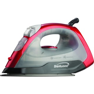 Brentwood MPI-54 Red Non-Stick Steam/ Dry/ Spray Iron