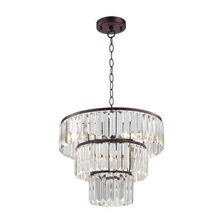 Sterling Home Antoinette 4-light Pendant in Bronze