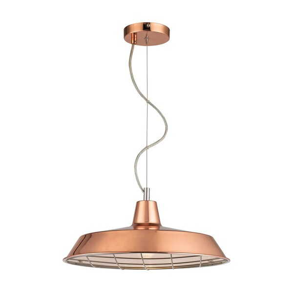 Sterling Home Ajax 1-light Pendant in Copper