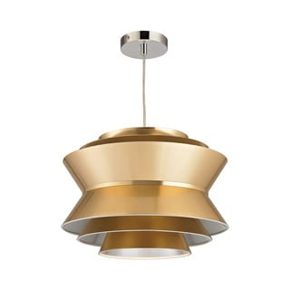 Sterling Home Godnik 1-light Pendant in Gold