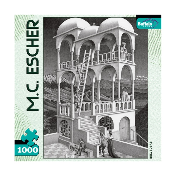 MC Escher Belvedere: 1000 Pcs