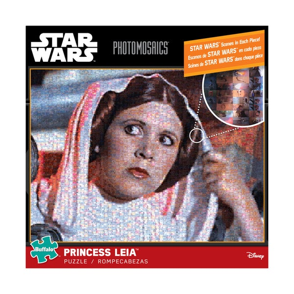 Star Wars Photomosaics Princess Leia: 1000 Pcs