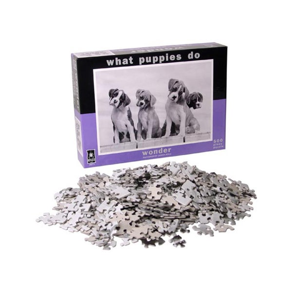 What Puppies Do Wonder Jigsaw Puzzle: 500 Pcs
