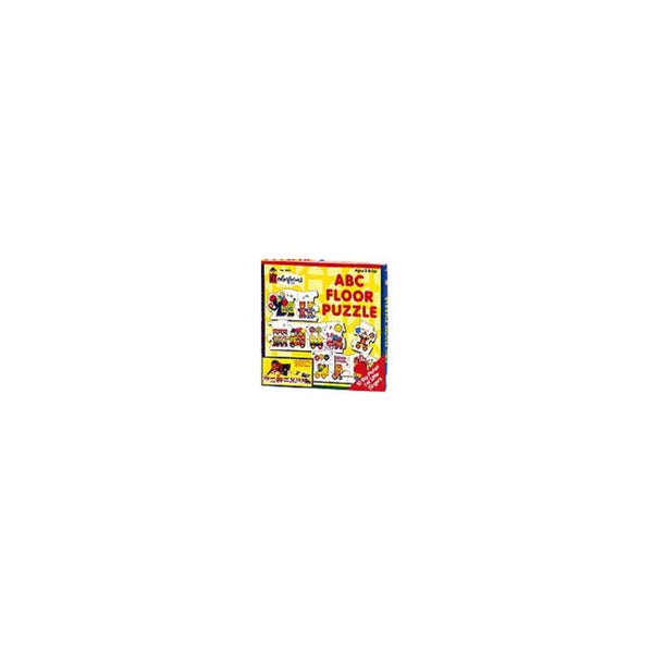 Colorforms ABC Floor Puzzle: 10 Pcs