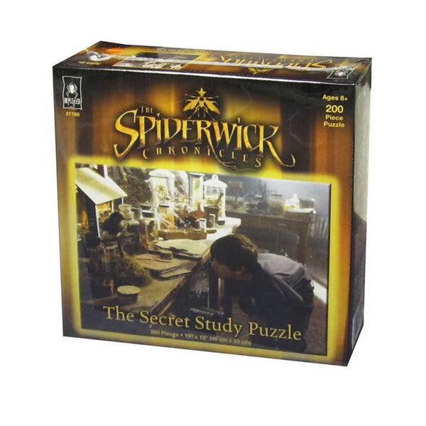 The Spiderwick Chronicles Secret Study Puzzle: 200 Pcs