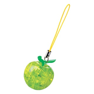 3D Crystal Puzzle Mini Apple (Green): 13-piece