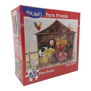 Alex Clark's Farm Friends - Barn Yard Puzzle: 63 Pcs