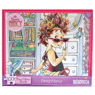 Fancy Nancy Glitter 100-Piece Puzzle