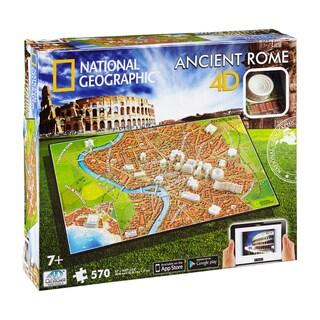 4D Cityscape Time Puzzle National Geographic Ancient Rome: 570-piece