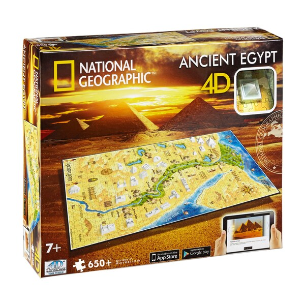 4D Cityscape Time Puzzle National Geographic Ancient Egypt: 650 Pcs