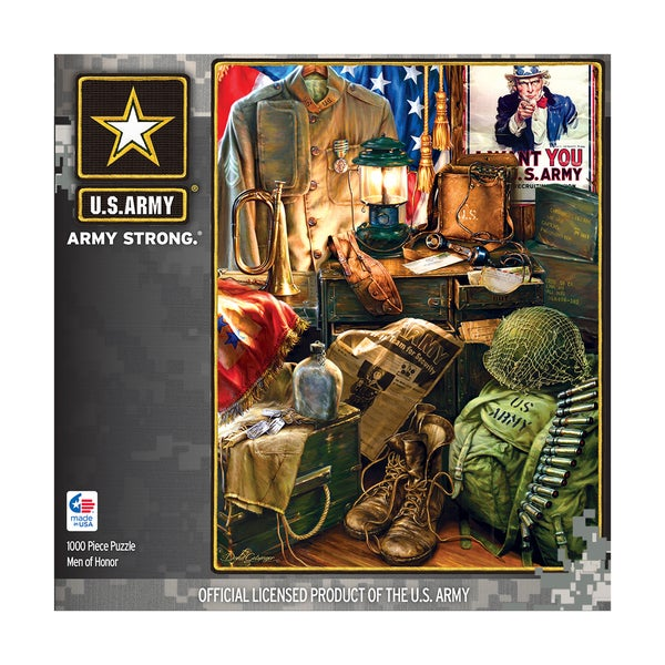 Hometown Heroes Men of Honor: 1000 Pcs