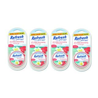 Refresh Your Car 2.5-ounce Gel Car Air Freshener (4 Pack)