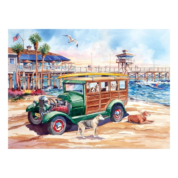 California Dreams Dog Days of Summer: 1000 Pcs