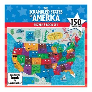 Scrambled States of America Puzzle: 150 Pcs