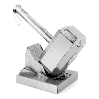 Metal Earth 3D Laser Cut Model Marvel Avengers Mjolnir (Thor's Hammer)