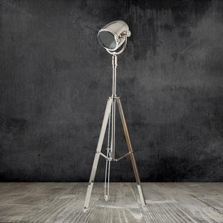 Urban Designs Nickel Floor Tripod Lamp
