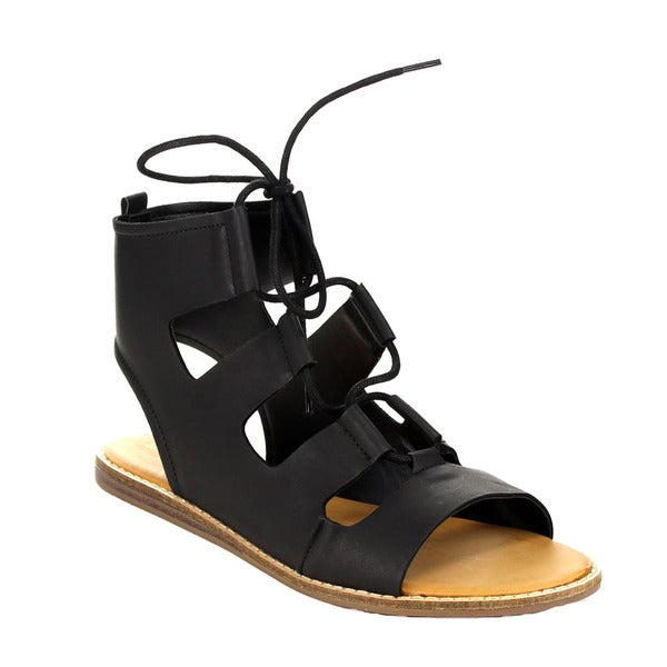 Bamboo Stardust-04s Gladiator Sandals