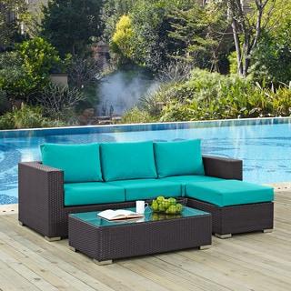 Gather 3 Piece Outdoor Patio Sofa Set