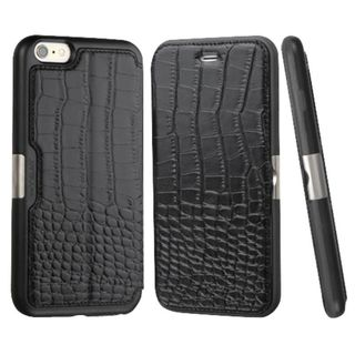 Insten Crocodile Leather Case Cover with Wallet Flap Pouch for Apple iPhone 6/ 6s