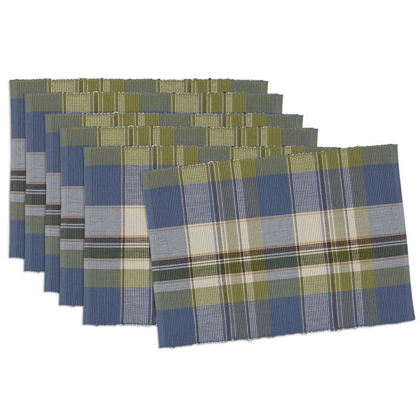 Lake House Plaid Placemat (Set of 6)