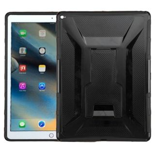 Insten Hard PC/ Silicone Dual Layer Hybrid Case Cover with Holster for Apple iPad Pro