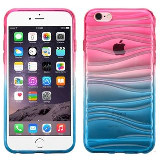 Insten Ripple TPU Rubber Candy Skin Case Cover for Apple iPhone 6 Plus/ 6s Plus