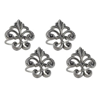 Fleur De Lis Napkin Ring (Set of 4)