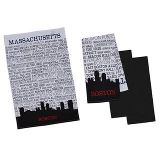 Cityscape Printed Dishtowel Set