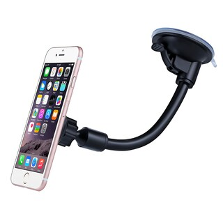 Mpow Grip Magnet Universal Windshield Car Mount Holder with Metal Plate for iPhone and Other Smartphones