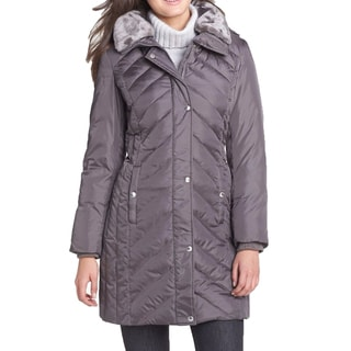 Michael Michael Kors Grey Down Puffer Coat (Small)