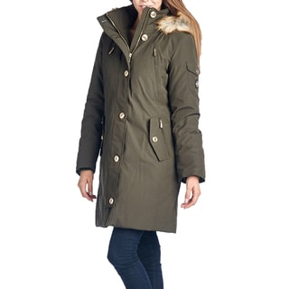 Michael Michael Kors Olive Green Down Parka