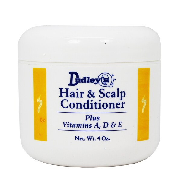 Dudley Hair & Scalp 4 oz. Conditioner Plus Vitamins A, D & E