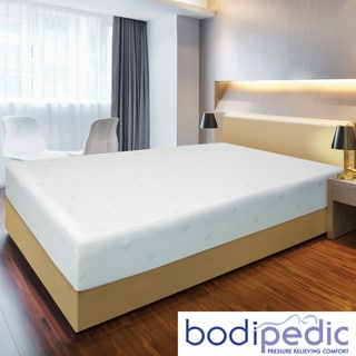 Bodipedic 10-inch King-size Memory Foam Mattress and Cover Set