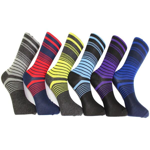 Men's Premium Dress Socks (Pack of 12 Pairs)